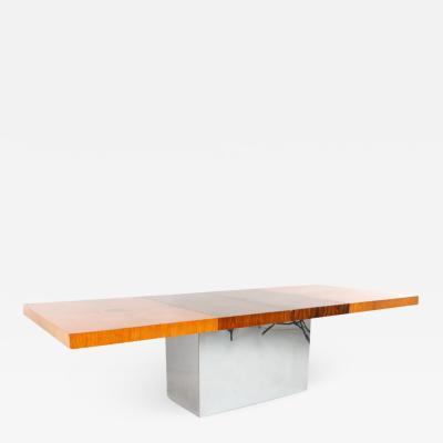 Milo Baughman Milo Baughman for Thayer Coggin Mid Century Expanding Dining Table