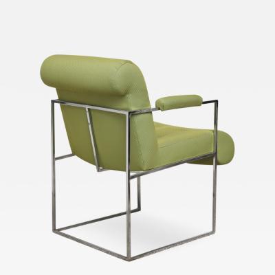 Milo Baughman Open Arm Chair by Milo Baughman for Thayer Coggin
