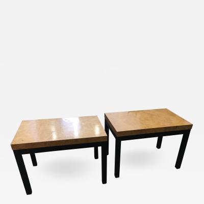 Milo Baughman Pair Of Milo Baughman End Tables