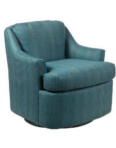 Milo Baughman Pair of Mid Century Modern Swivel Lounge Chairs