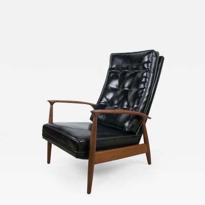 Milo Baughman Reclining Lounge by Milo Baughman for Thayer Coggin