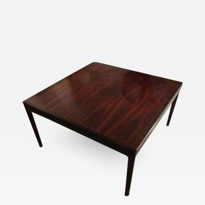 Milo Baughman Rosewood cocktail table Milo Baughman