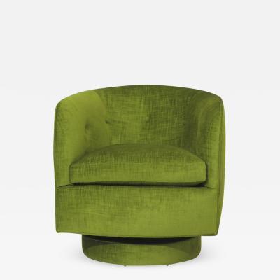 Milo Baughman Roxy Swivel Tilt Lounge Chair by Milo Baughman for Thayer Coggin