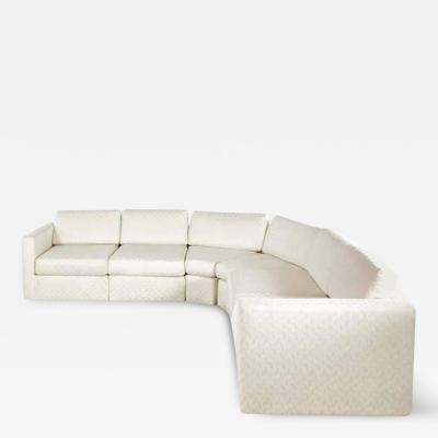 Milo Baughman Semi Circular Six Piece Sectional Sofa by Milo Baughman for Thayer Coggin