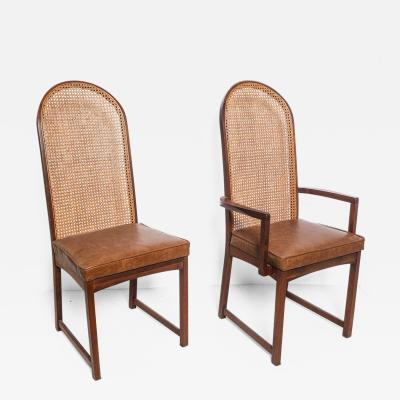 Milo Baughman Set of 8 Milo Baughman for Directional Dining Chairs