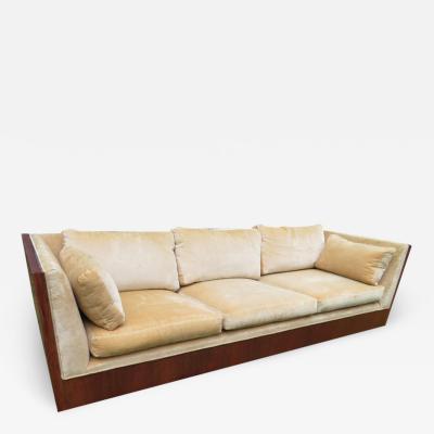 Milo Baughman Stunning Milo Baughman Rosewood Case Sofa Mid Century Modern