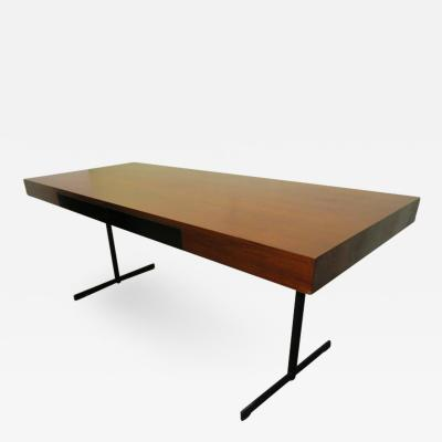 Milo Baughman Stunning Milo Baughman Slim Walnut Desk Mid Century Modern