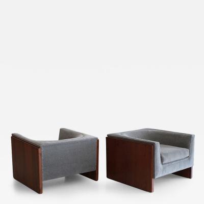 Milo Baughman Thayer Coggin Cube Chairs