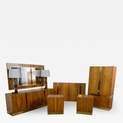 Milo Baughman Vintage modern rosewood complete bedroom set by milo baughman for thayer coggin