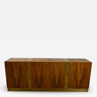 Milo Baughman Vintage modern rosewood dresser credenza or buffet by milo baughman