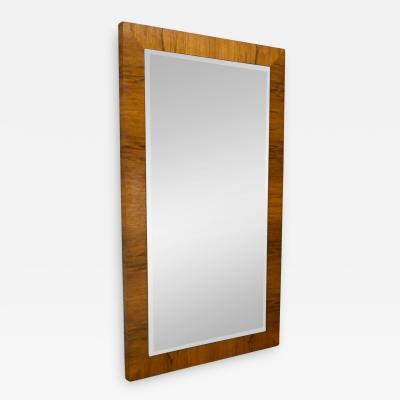 Milo Baughman Vintage modern rosewood large mirror by milo baughman for thayer coggin