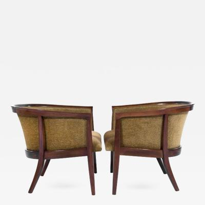 Milo Baughman Walnut Frame Lounge Chairs by Milo Baughman for Thayer Coggin