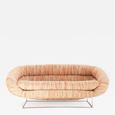 Milo Baughman sofa designed by Milo Baughman 1970 c a