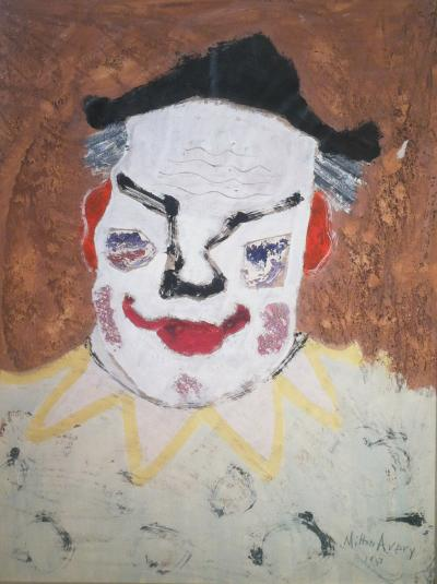 Milton Clark Avery Clown 1950