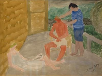 Milton Clark Avery Country Haircut