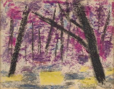 Milton Clark Avery Evening Forest