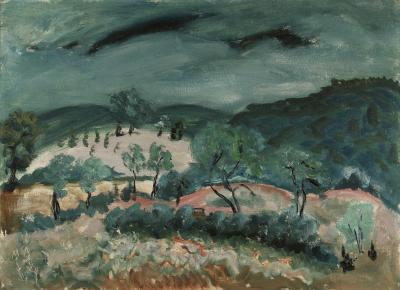 Milton Clark Avery Landscape