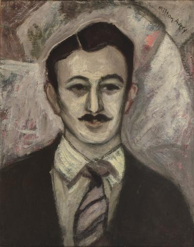 Milton Clark Avery Portrait of Gershon Benjamin