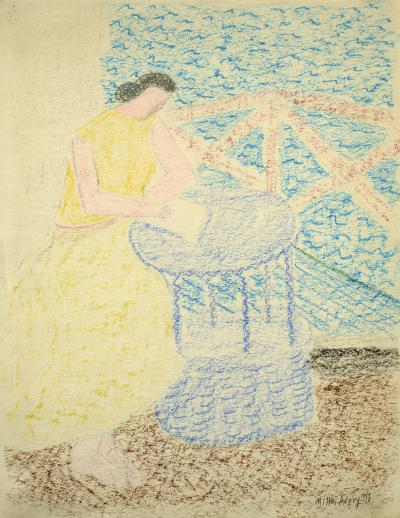 Milton Clark Avery The Letter