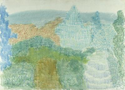 Milton Clark Avery Trees and Mountains