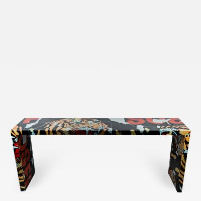 Mimmo Rotella Mimmo Rotella Table Tigre Special Edition Artcurial Italy