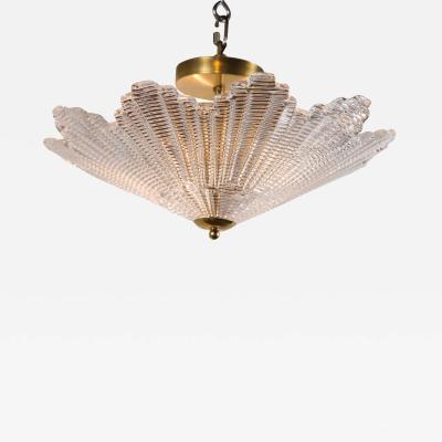 Mini Venetian Star Shaped Ceiling Fixture Contemporary