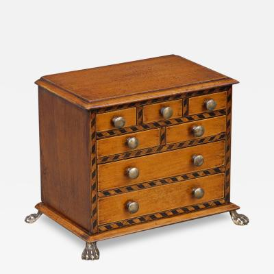 Miniature Chest Circa 1850