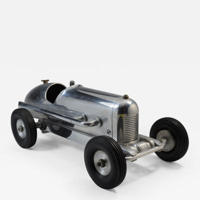 Miniature Tether Race Car Sculpture 1930 Miller Design