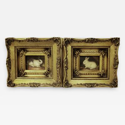 Miniatures Paintings of Rabbits
