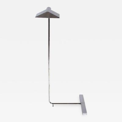 Minimalist Polished Chrome Reading Lamp by Cedric Hartman
