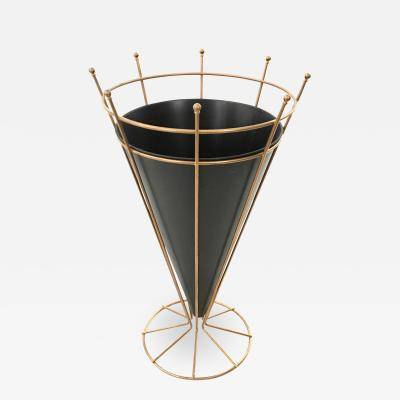 Minimalist and Refined Umbrella Stand Italy 1950s