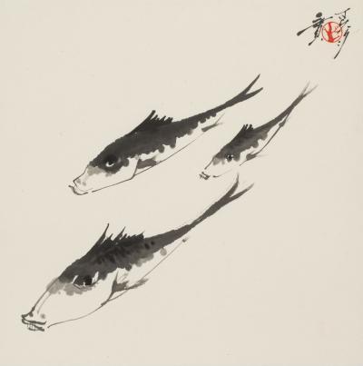 Minol Araki Three Fishes