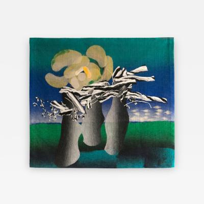 Miroslav Stolfa Miroslav Stolfa Abstract Landscape Wall Tapestry 1975