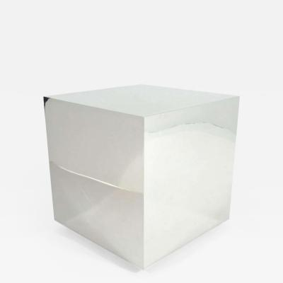 Mirror Polished Steel Cube Rolling Table