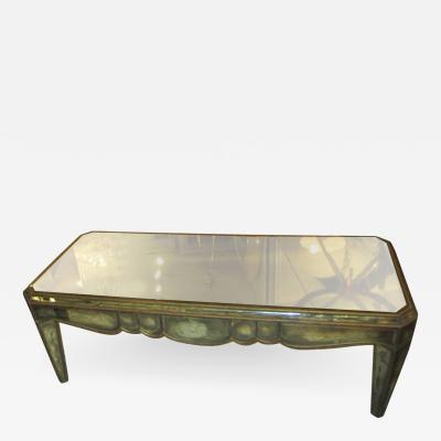 Mirrored Coffee Table in the Neo Baroque Manner