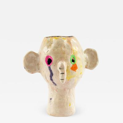 Misha Milovanovich DIZZIE GILLESPIE ceramic vessel sculpture