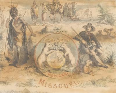 Missouri Treaty MDCCCXX 1820