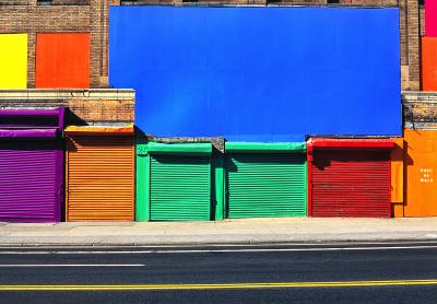 Mitchell Funk 42nd Street Colors