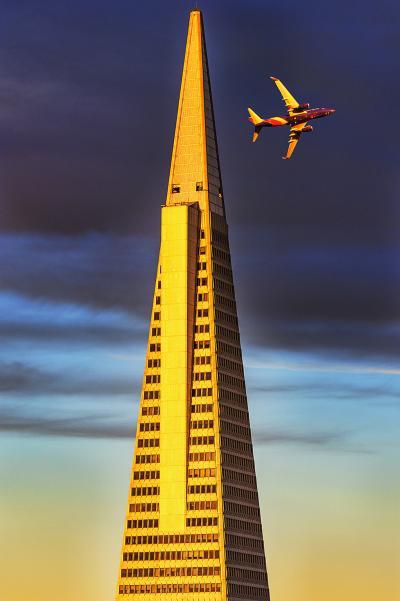 Mitchell Funk Transamerica Pyramid San Francisco