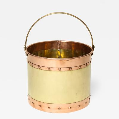 Mixed Metal Kindling Bucket
