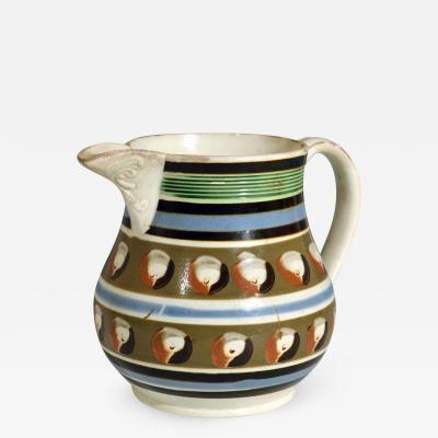 Mocha Mocha pottery cats eye jug