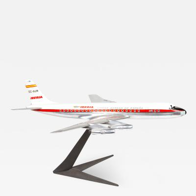 Model of an Iberian Airline DC 8