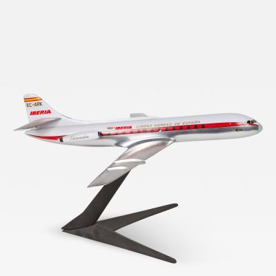 Model of an Iberian Airline SE 210 Caravelle VIR