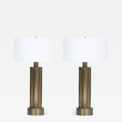 Modern Antique Brass Table Lamp