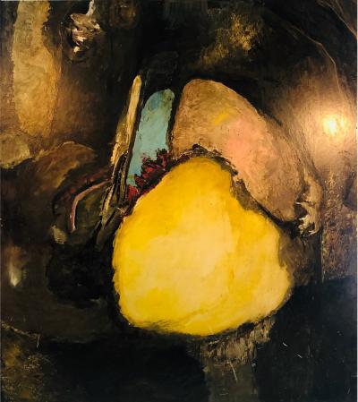 Modern Colorful Painting by Henrietta Berk