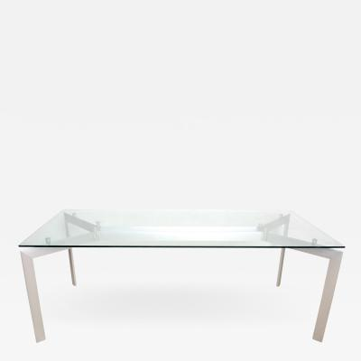 Modern Contemporary Italian Dining Table METRA by Makio Hasuike for Seccose