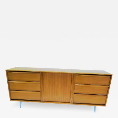 Modern Danish Teak Sideboard Dresser Denmark 1970s