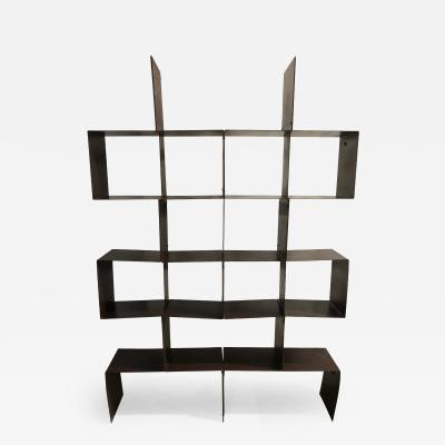 Modern Metal Bookcase