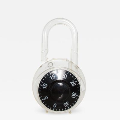 Modern Pop Art Transparent Coin Money Bank Combination Lock