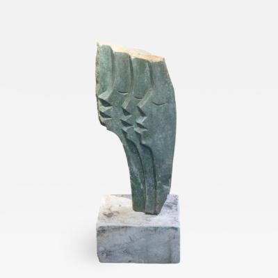 Modern Stone Sculpture by C Marinse